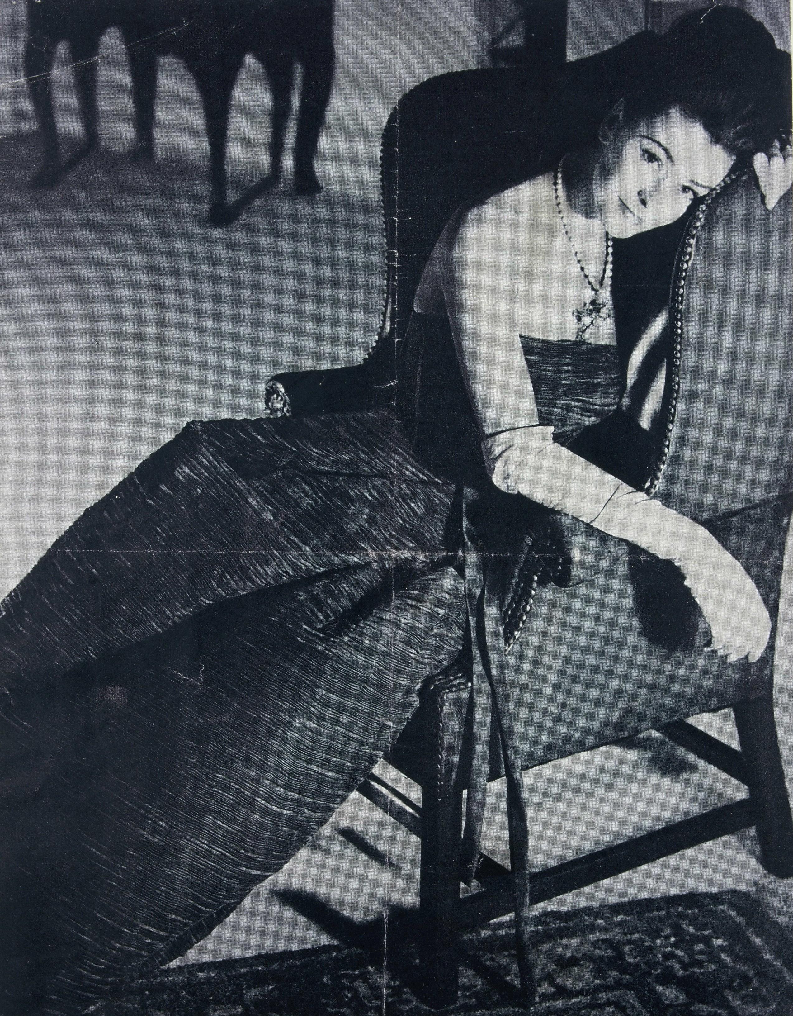 Moda w latach 50. Rękawiczki